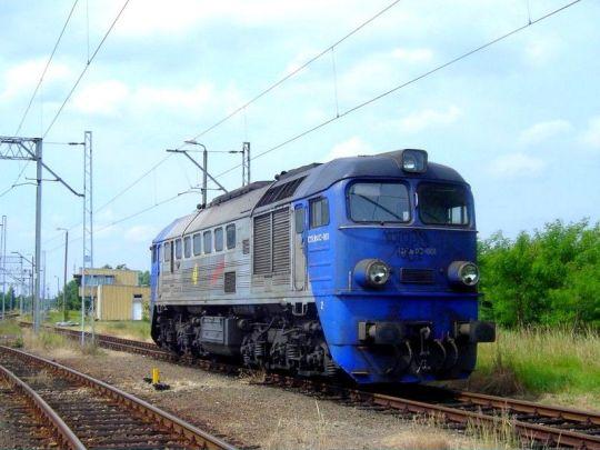 """""""Gagar"""" CTL-u oczekuje na powrotny pociąg do Bierawy"""