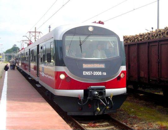 Prezentacja zmodernizowanej jednostki na stacji w Goleniowie
