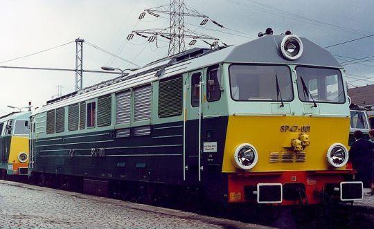 SP47 na terenie Muzeum Kolejnictwa w Warszawie