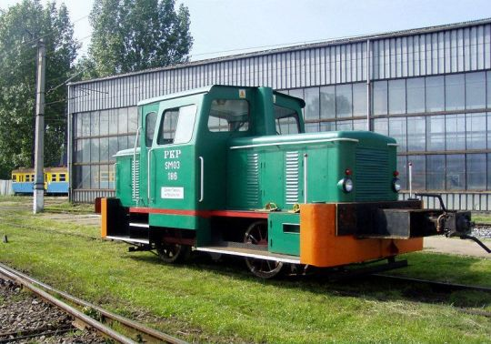 """""""Kogucik"""" przy lokomotywowni w Kołobrzegu"""