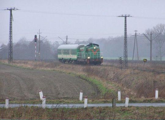 """Popołudniowy pociąg do Kalisza Pomorskiego jeszcze z """"kociołkiem"""""""