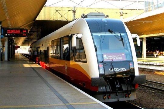 SA133 za chwilę odjedzie w kierunku lotniska Kraków Balice
