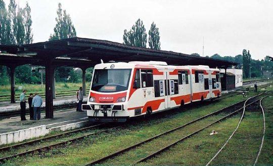 Postój techniczny na stacji Złocieniec