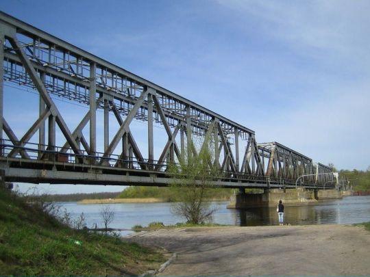 """Most """"wrocławski"""" nad Regalicą"""
