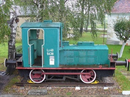 Jeden z eksponatów w skansenie taboru kolejowego w Kościerzynie