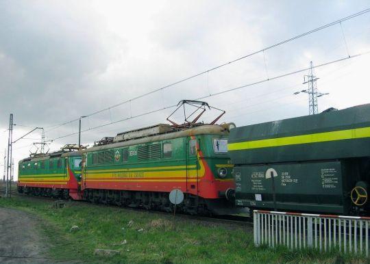 Kolorowe lokomotywy przyciągnęły ciekawskie oko miłośnika