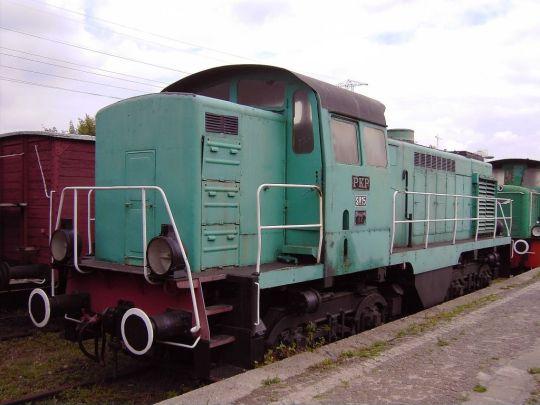 SM15-17 jako eksponat Muzeum Kolejnictwa w Warszawie