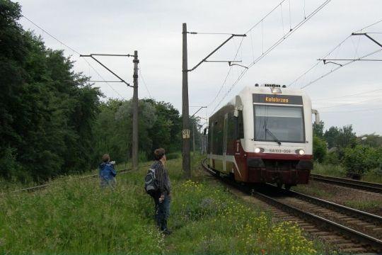 Miłośnicy kolei oczekują parowozu... prawdziwego parowozu