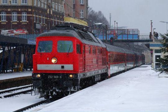 Jeden z ciekawszych pociągów nowego RJ 2010/2011 - EC ze Szczecina do Pragi