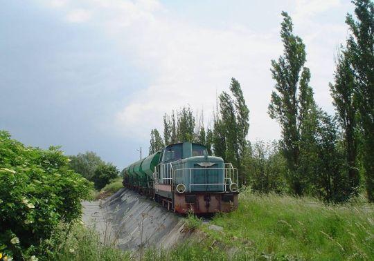 Praca manewrowa z wagonami samowyładowczymi