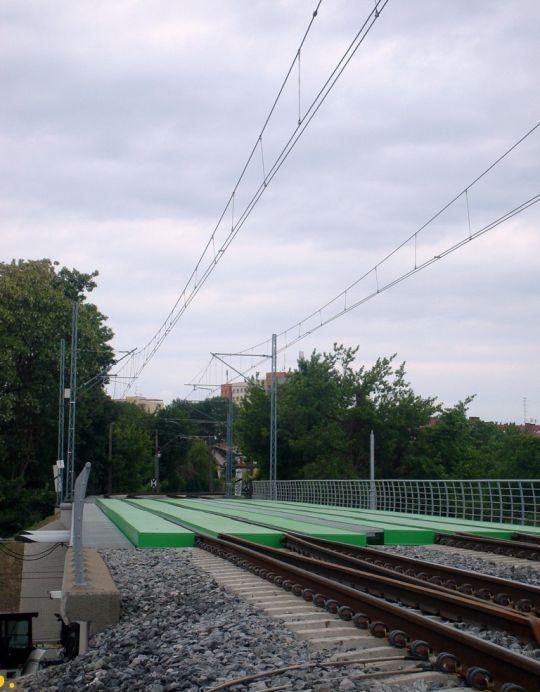 Remont ulic Niemierzyńskiej oraz Arkońskiej wpłynął również na odmłodzenie odcinka linii do Trzebieży
