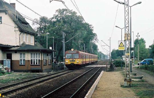 Pociąg osobowy do Koszalina rusza w stronę Stargardu Szczecińskiego
