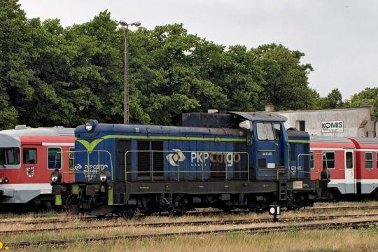 """Dzisiaj """"Szczecinianina"""" przyprowadziła SM42 spółki PKP Cargo"""