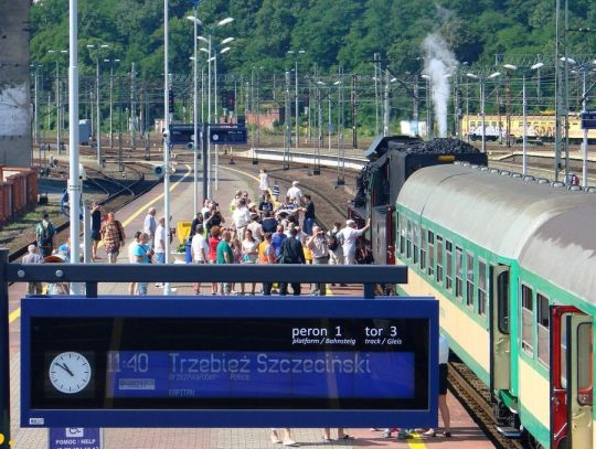 Specjalny parowy pociąg osobowy wkrótce wyruszy do Trzebieży Szczecińskiej