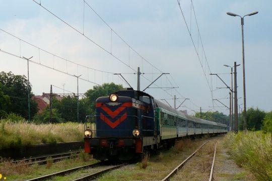 Pociąg specjalny z Wrocławia zakończył bieg