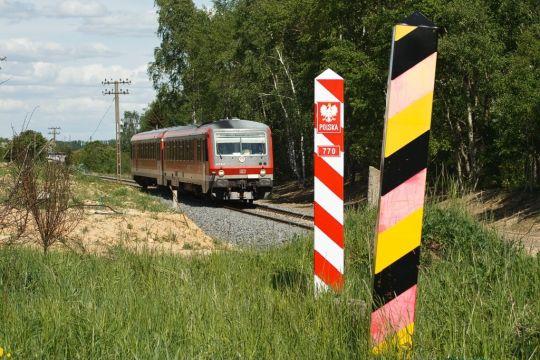 VT628 za chwilę przejedzie przez granicę polsko-niemiecką
