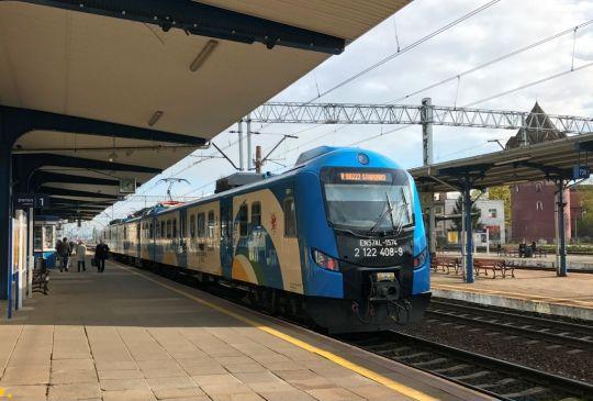 Pociąg Regio ze Szczecina do Stargardu skończył bieg